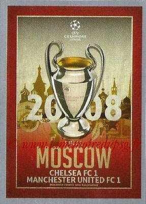 2015-16 - Topps UEFA Champions League Stickers - N° 600 - UEFA Champions League Final 2007-08