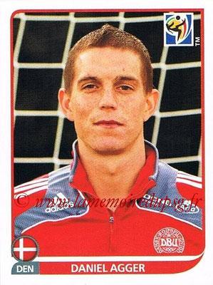 2010 - Panini FIFA World Cup South Africa Stickers - N° 356 - Daniel AGGER (Danemark)