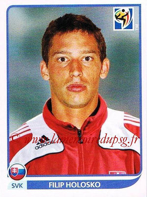 2010 - Panini FIFA World Cup South Africa Stickers - N° 485 - Filip HOLOSKO (Slovaquie)