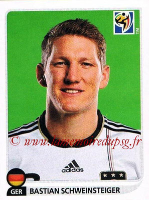 2010 - Panini FIFA World Cup South Africa Stickers - N° 270 - Bastian SCHWEINSTEIGER (Allemagne)