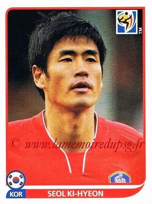 2010 - Panini FIFA World Cup South Africa Stickers - N° 160 - Seol KI-HYEON (Corée du Sud)
