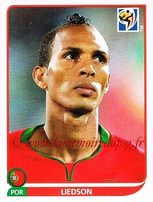 2010 - Panini FIFA World Cup South Africa Stickers - N° 560 - LIEDSON (Portugal)