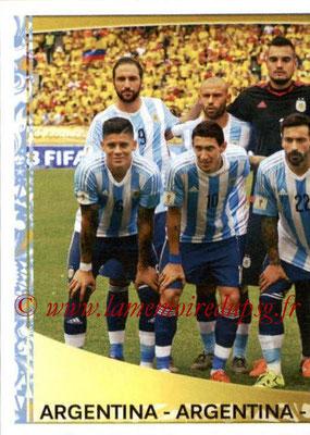 Panini Copa America Centenario USA 2016 Stickers - N° 303 - Equipe Argentine1