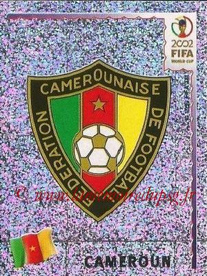 2002 - Panini FIFA World Cup Stickers - N° 368 - Logo Cameroun