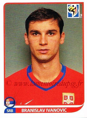 2010 - Panini FIFA World Cup South Africa Stickers - N° 300 - Branislav IVANOVIC (Serbie)