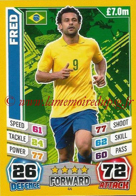 Topps Match Attax England 2014 - N° 044 - FRED (Brésil)