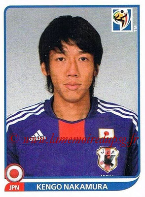 2010 - Panini FIFA World Cup South Africa Stickers - N° 385 - Kengo NAKAMURA (Japon)