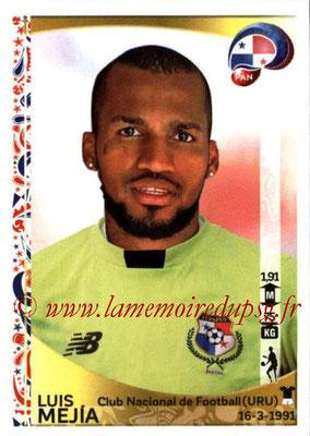 Panini Copa America Centenario USA 2016 Stickers - N° 354 - Luis MEJIA  (Panama)