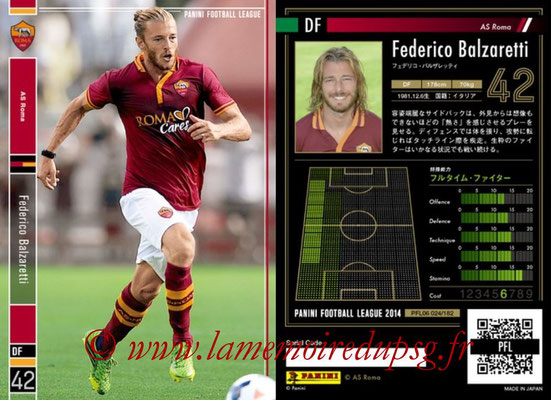 Panini Football League 2014 - PFL06 - N° 024 - Federico BALZARETTI (AS Roma)