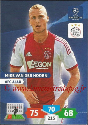 2013-14 - Adrenalyn XL champions League N° 030 - Mike VAN DER HOORN (AFC Ajax)