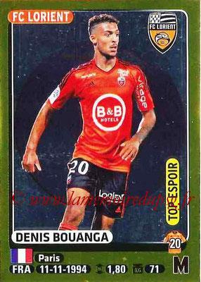 2015-16 - Panini Ligue 1 Stickers - N° 187 - Denis BOUANGA (FC Lorient) (Top espoir)