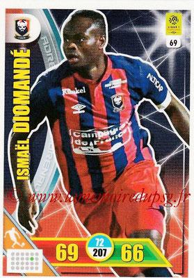 2017-18 - Panini Adrenalyn XL Ligue 1 - N° 069 - Ismaël DIOMANDE (Caen)
