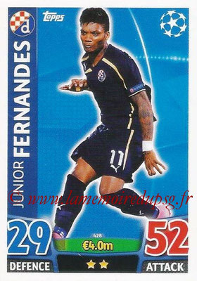2015-16 - Topps UEFA Champions League Match Attax - N° 428 - Junior FERNANDES (GNK Dinamo Zagreb)