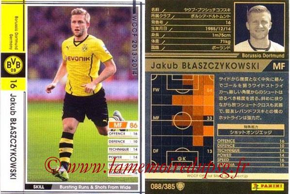 2013-14 - WCCF - N° 088 - Jakub BLASZCZYKOWSKI (Borussia Dortmund)