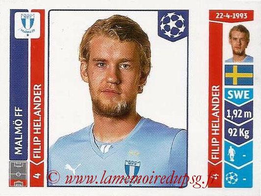 2014-15 - Panini Champions League N° 094 - Filip HELANDER (Malmö FF)