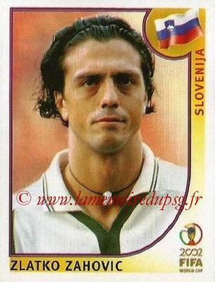 2002 - Panini FIFA World Cup Stickers - N° 128 - Zlatko ZAHOVIC (Slovénie)