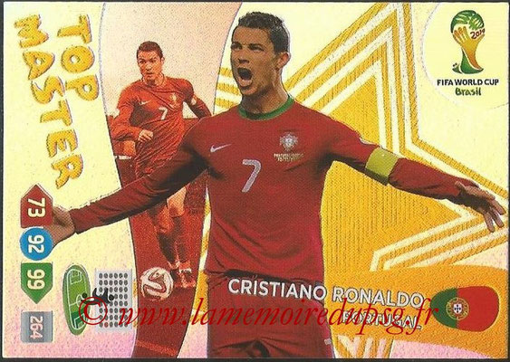 2014 - Panini FIFA World Cup Brazil Adrenalyn XL - N° 411 - Cristiano RONALDO (Portugal) (Top Master)