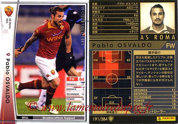 2012-13 - WCCF - N° 191 - Pablo OSVALDO (AS Roma)