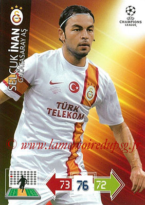 2012-13 - Adrenalyn XL champions League N° 103 - Selcuk INAN (Galatasaray AS)