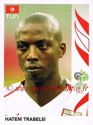 2006 - Panini FIFA World Cup Germany Stickers - N° 575 - Hatem TRABELSI (Tunisie)