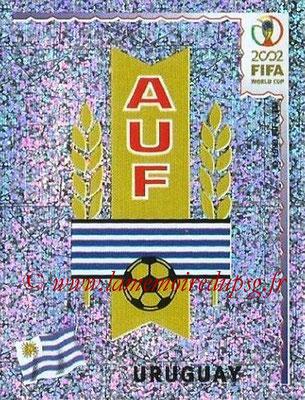 2002 - Panini FIFA World Cup Stickers - N° 062 - Logo Uruguay