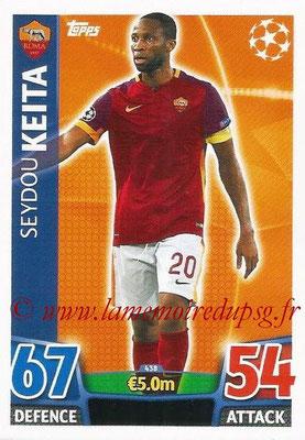 2015-16 - Topps UEFA Champions League Match Attax - N° 438 - Seydou KEITA (AS Roma)