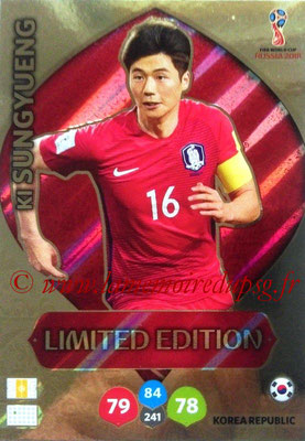 2018 - Panini FIFA World Cup Russia Adrenalyn XL - N° LE-KSU - Ki SUNGYUENG (Corée du Sud) (Limited Edition)