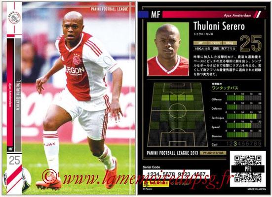 Panini Football League 2013 - PFL02 - N° 117 - Thulani Serero ( Ajax Amsterdam )