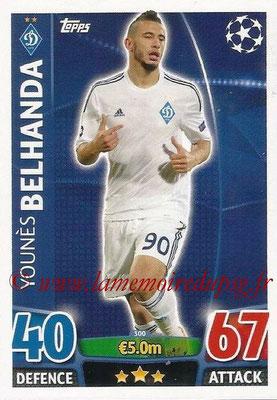 2015-16 - Topps UEFA Champions League Match Attax - N° 300 - Younès BELHANDA (FC Dynamo Kiev)