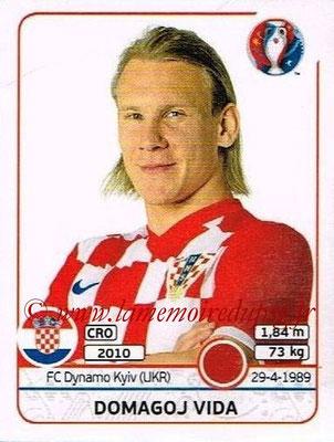 Panini Euro 2016 Stickers - N° 440 - Domagoj VIDA (Croatie)