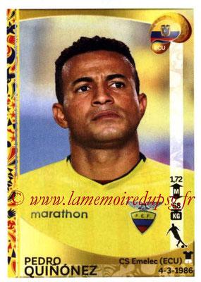Panini Copa America Centenario USA 2016 Stickers - N° 148 - Pedro QUINONEZ (Equateur)