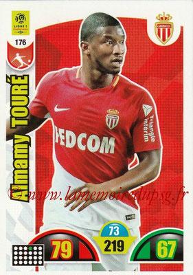 2018-19 - Panini Adrenalyn XL Ligue 1 - N° 176 - Almany TOURE (Monaco)