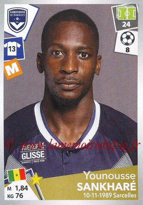 2017-18 - Panini Ligue 1 Stickers - N° 065 - Younousse SANKHARE (Bordeaux)