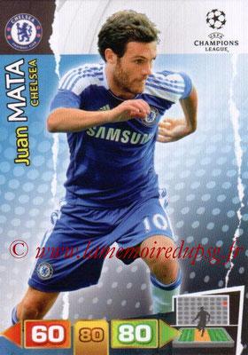2011-12 - Panini Champions League Cards - N° 090 - Juan MATA (Chelsea FC)