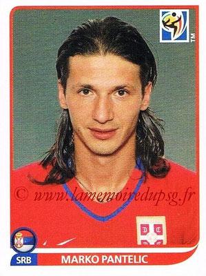 2010 - Panini FIFA World Cup South Africa Stickers - N° 311 - Marko PANTELIC (Serbie)