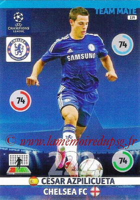 2014-15 - Adrenalyn XL champions League N° 119 - Cesar AZPILICUETA (Chelsea FC)