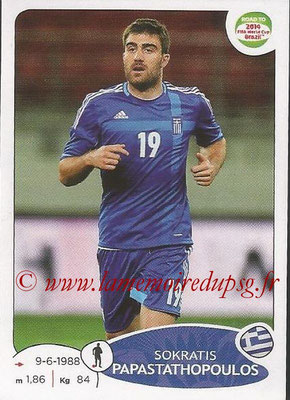 2014 - Panini Road to FIFA World Cup Brazil Stickers - N° 274 - Sokratis PAPASTATHOPOULOS (Grèce)