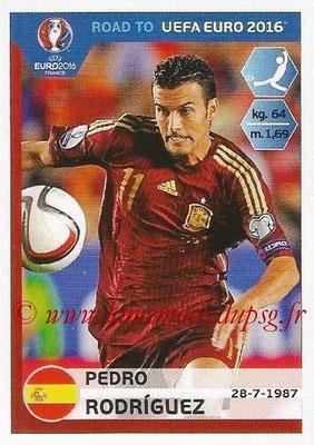 Panini Road to Euro 2016 Stickers - N° 094 - Pedro RODRIGUEZ (Espagne)