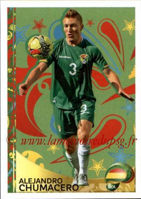 Panini Copa America Centenario USA 2016 Stickers - N° 401 - Alejandro CHUMACERO (Bolivie) (En action)