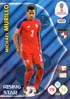 2018 - Panini FIFA World Cup Russia Adrenalyn XL - N° 429 - Michael MURILLO (Panama) (Rising Star)