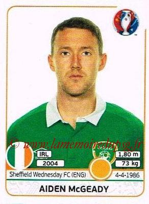 Panini Euro 2016 Stickers - N° 532 - Aiden McGEADY (République d'Irlande)