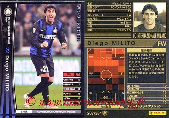 2012-13 - WCCF - N° 207 - Diego MILITO (Inter Milan)