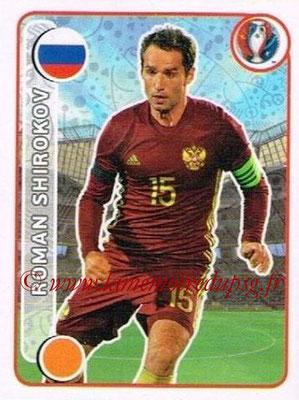 Panini Euro 2016 Stickers - N° 155 - Roman SHIROKOV (Russie)