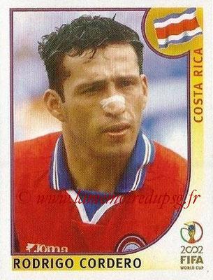 2002 - Panini FIFA World Cup Stickers - N° 231 - Rodrigo CORDERO (Costa Rica)