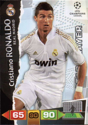 2011-12 - Panini Champions League Cards - N° 237 - Cristiano RONALDO (Real Madrid CF) (Star Player)