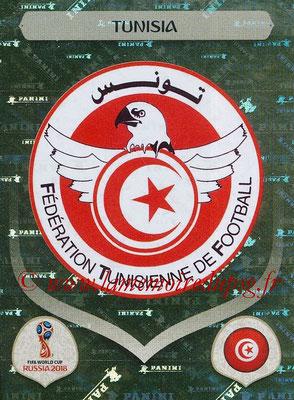2018 - Panini FIFA World Cup Russia Stickers - N° 552 - Ecusson Tunisie