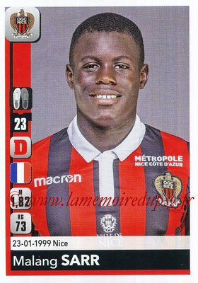 2018-19 - Panini Ligue 1 Stickers - N° 309 - Malang SARR (Nice)