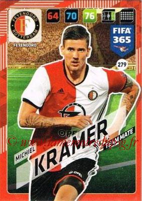 2017-18 - Panini FIFA 365 Cards - N° 279 - Michiel PAZDAN (Feyenoord)