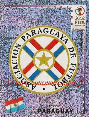 2002 - Panini FIFA World Cup Stickers - N° 134 - Logo Paraguay
