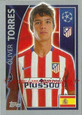 2015-16 - Topps UEFA Champions League Stickers - N° 185 - Oliver TORRES (Club Atlético de Madrid)